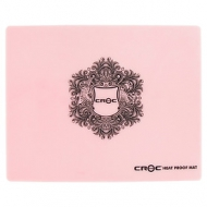 Croc Silicone Pink Heat Proof Mat