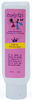 Curly Q Princess Glaze