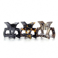 France Luxe Cutout Rectangle Jaw Clip