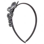 France Luxe Studded Monet Flower Headband