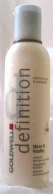 Definition Shine & Vitality Shampoo