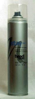 Head Games Stay Put Firm Hold Hair Spray