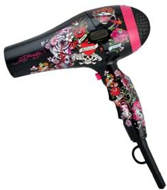 Ed Hardy Vintage Collage Blow Dryer