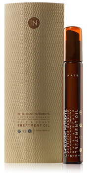 Certified Organic Hair and Scalp Treatment Oil