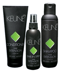 Keune Hair Extension Care