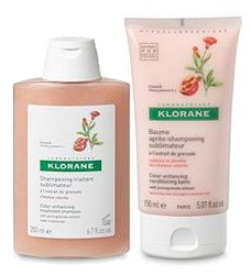 Klorane pomegranate products