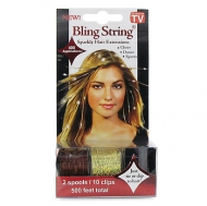 Mia Bling String Gold and Brown