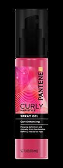 Curly Hair Series Curl Enhancing Spray Gel