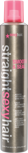 Straight Sexy Hair Aerated Smooth and Seal Anti-Frizz Spray