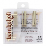 bombshell blonde collection Rubberized Mini Pins