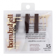 bombshell brunette collection Rubberized Mini Pins