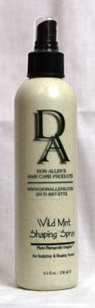 Don Allen Mint Shaping Spray