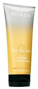 Blonde Glam Pure Pearl color-activating treatment for ultra pale blonde highlights