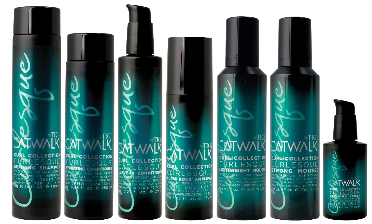 Tigi Transforms Curls Rock Into Curlesque - Best hair products for curly hair
