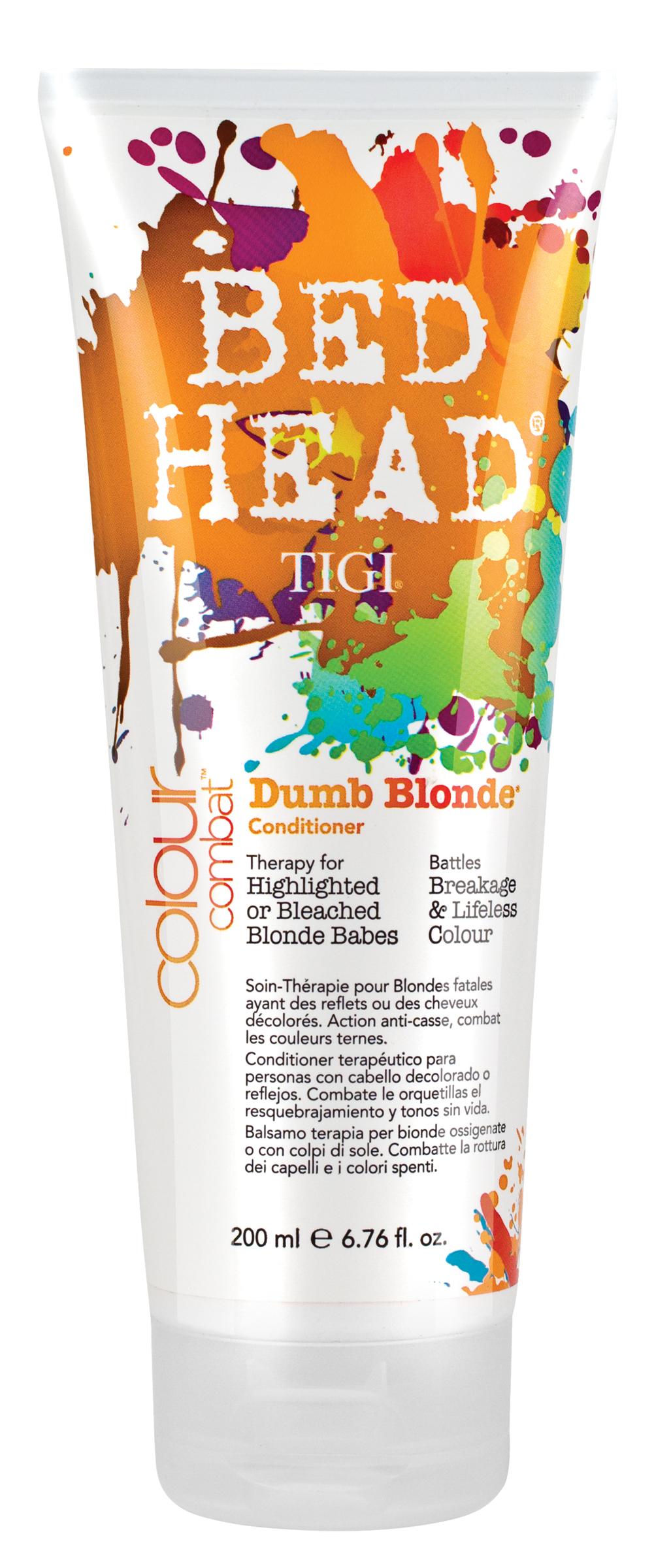 Bed Head Colour Combat Dumb Blonde Conditioner