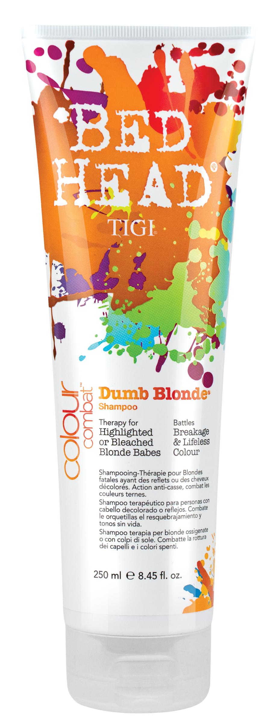Bed Head Colour Combat Dumb Blonde Shampoo