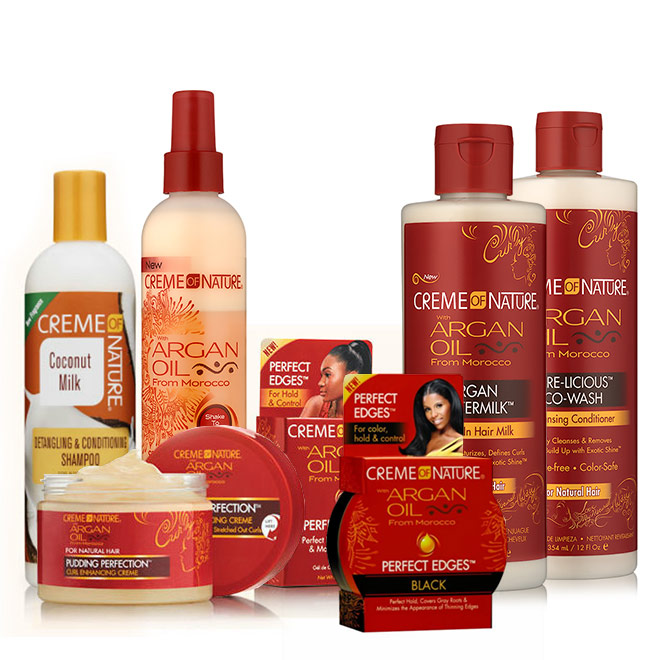 Creme of Nature's Texture on the Runway 2017 Bundle