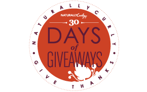 NaturallyCurly.com's Give Thanks November Giveaway