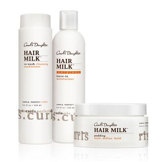 Hair Milk Deep Moisture Curl Set