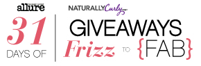 NaturallyCurly's 31 Days of Giveaways