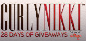 CurlyNikki's 28 Days of Giveaways