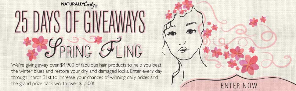 NaturallyCurly's 25 Days of Giveaways
