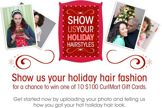 Show Us Your Holiday Hairstyles!