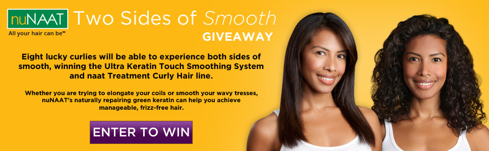 nuNAAT Two Sides of Smooth Giveaway