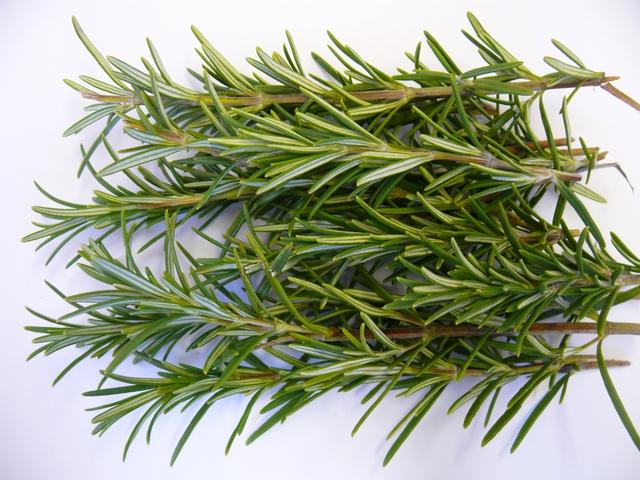 Rosemary-Sage Hair Shine Rinse