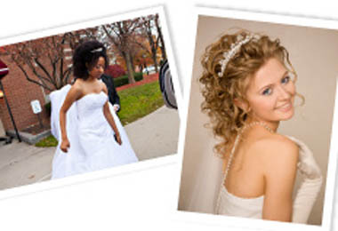 Wedding Hair Styles for Curly Hair
