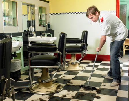 Salon Cleaning & Sweeping Tips