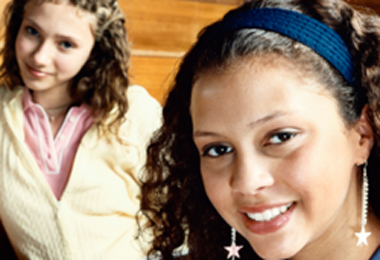 Curly Teens: Kickin' It With Curly Hair in High School