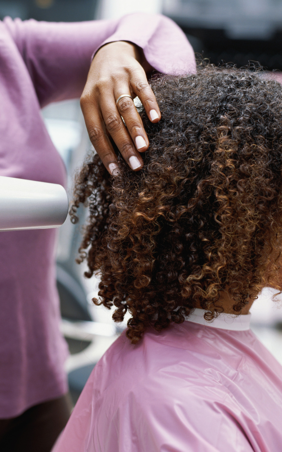 How To Get Shiny Hair When Blow Drying Natural Hair