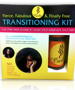 Transitioning From Relaxed To Natural Hair Kit