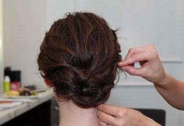 Wavy Half Updo Holiday Hair Styles