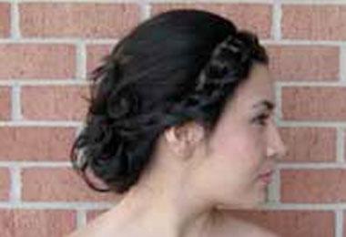 Holiday Hair: Wavy Braided Updos