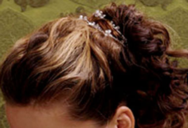 Formal Holiday Curly Updos