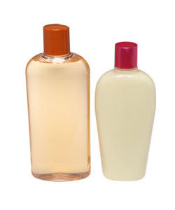 shampoo and conditioner bottle