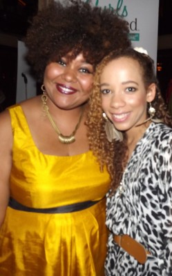 Afrobella at the Curls Unleashed launch party
