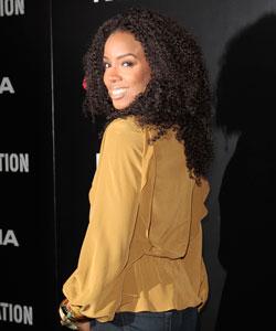 Kelly Rowland's fabulous weave.