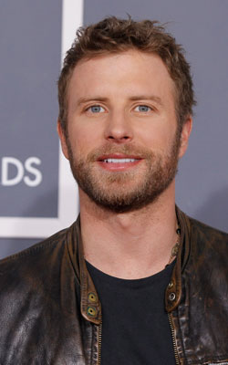 Dierks Bentley at the 54th Annual Grammy Awards
