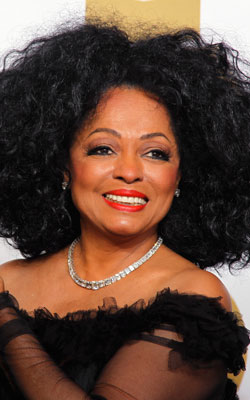 Diana Ross at the 54th Annual Grammy Awards