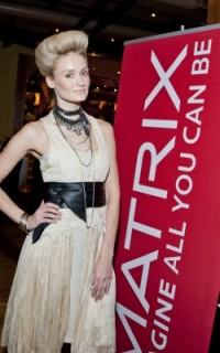 Matrix model at Texture on the Runway