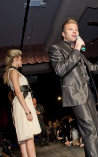 Matrix Artistic Director Nick Stenson at Texture on the Runway