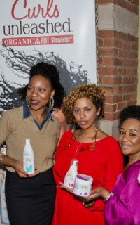 The Curls Unleashed team at Texture on the Runway