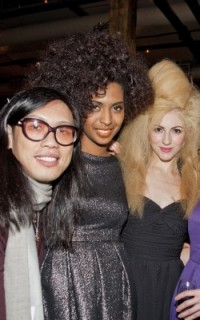Stephen Wang and Minardi Models at Texture on the Runway