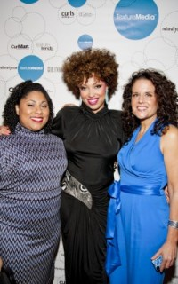Empress Ri, Taren Guy, and Michelle Breyer at Texture on the Runway