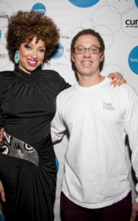 Taren Guy and Dickey of Hair Rules at Texture on the Runway