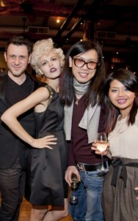 Minardi Luxury Color Care creative team at Texture on the Runway