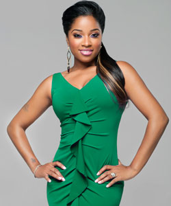 Toya Carter, spokesmodel for Ampro